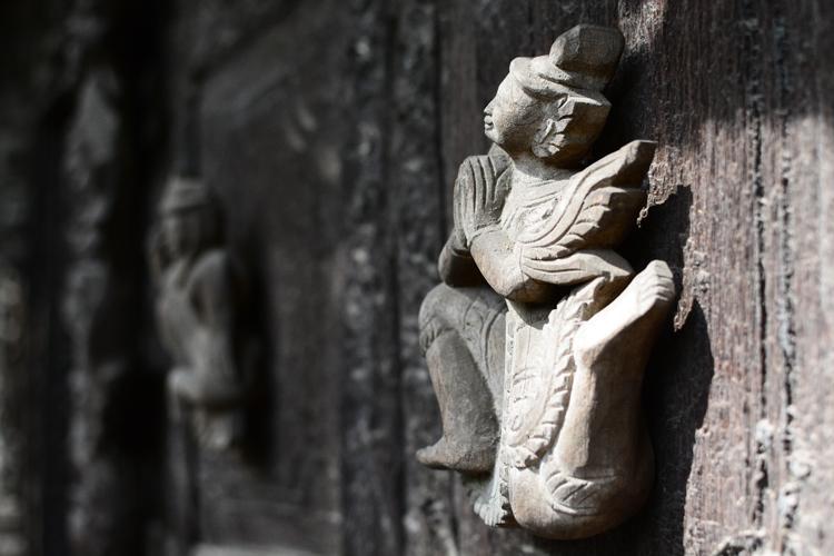 photo, voyage, birmanie, temple, mandalay