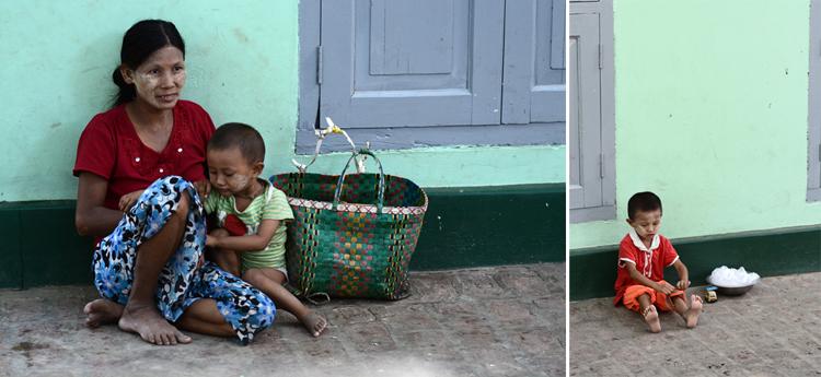 birmanie, voyage, photo, mandalay, portrait, famille, enfant