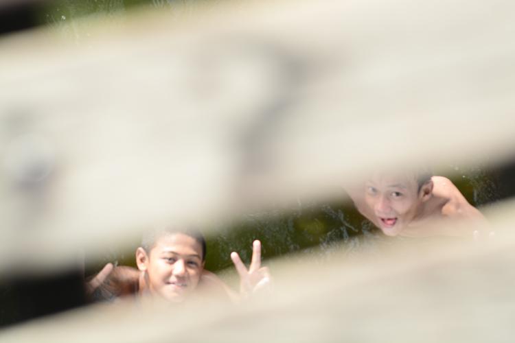 birmanie, voyage, photo, mandalay, pont u bien, portrait, enfant