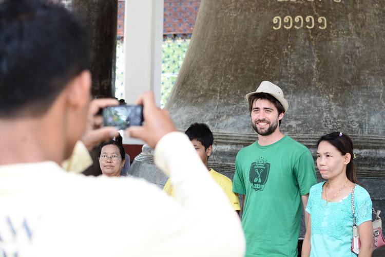 birmanie, voyage, photo, temple, mandalay, mingun, portrait