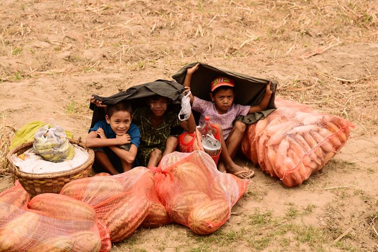 birmanie, voyage, photo, bateau, irrawaddy, croisière, portrait, enfant