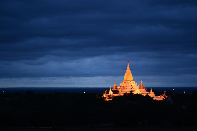 birmanie, voyage, photo, bagan, temple, lever de soleil