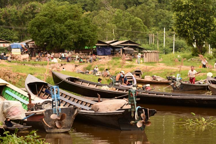 birmanie, voyage, photo, lac inle, lac, marché, bateau