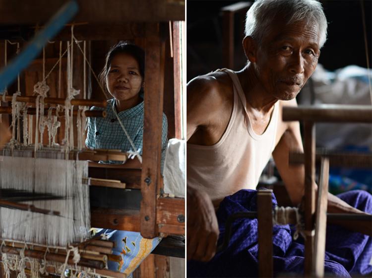 birmanie, voyage, photo, lac inle, lac, portrait, tissage