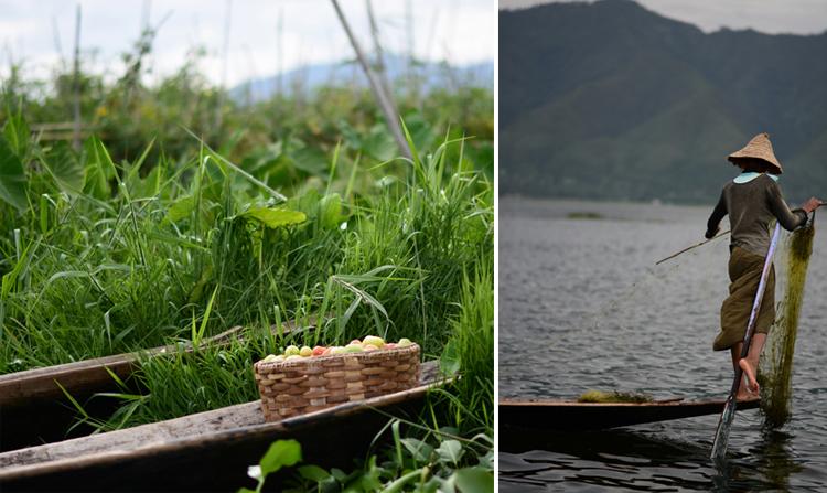 birmanie, voyage, photo, lac inle, lac, pêcheur, portrait, tomate