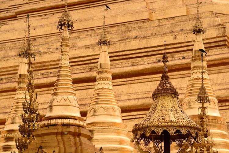 birmanie, yangoon, rangon, temple, voyage, photo