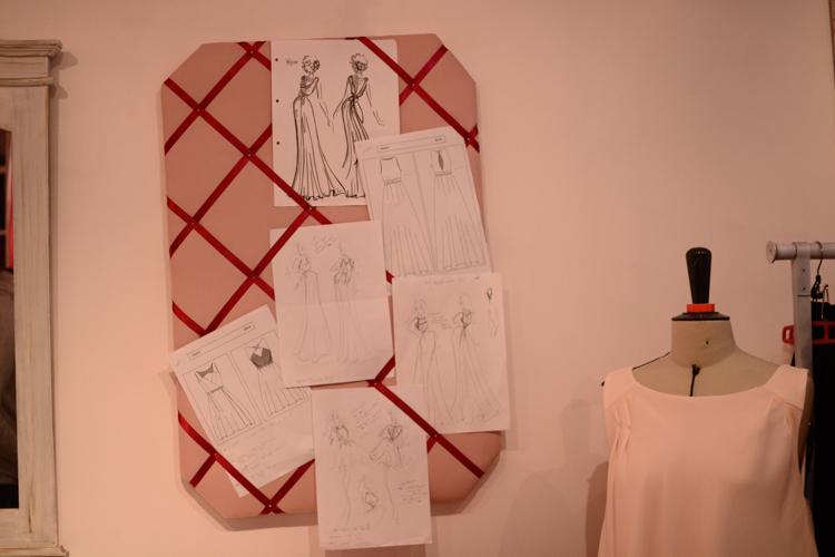 atelier, création, robe de mariée, mariage, création sur mesure, robe sur mesure