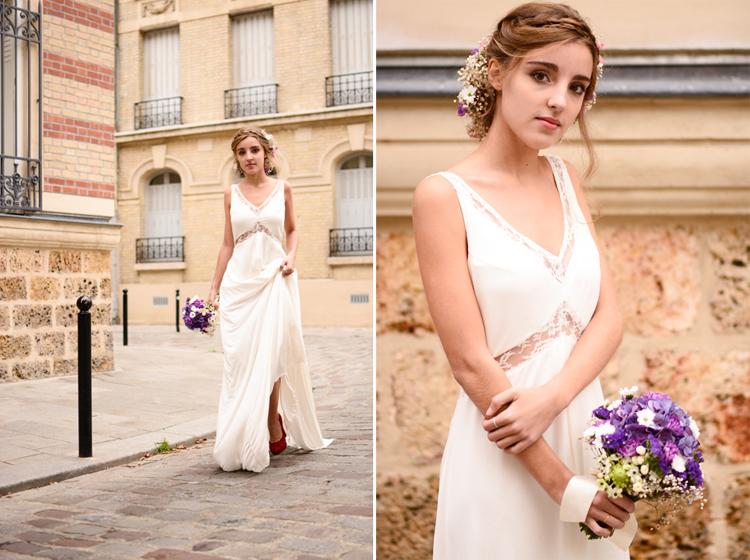 Pauline Rançon robe mariée 2016, pauline rançon mariée, mariée, robe de mariée, pauline rançon création, fabryka, paris, portrait, mode