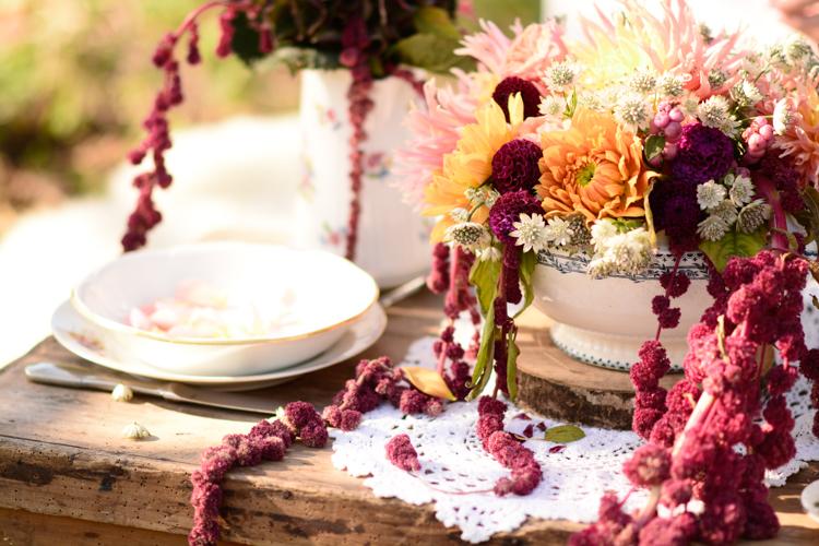 inspiration automnale, agathefphotographie, lilassauvage, automne, inspiration, wedding, mariage, flowers, fleurs, anne de lafforest, robe, dress, wedding dress