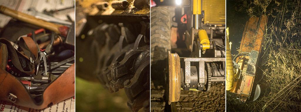 reportage, chantier, reportage chantier, corporate, suivi chantier, rotobroyage, Sncf, Nantes, pays de loire