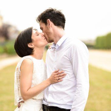 Mariage intime à Paris – Leslie et Arnaud