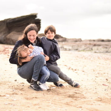 Séance En Famille – plage de la source à Pornic