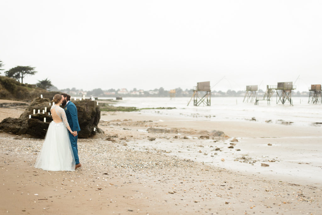 mariage hiver, photographe mariage, mariage pornic, mariage loire atlantique, photographe pornic, photographie loire atlantique, mariage Nantes, photographe Nantes, inspiration, hiver, mariage, couple, amour, tharon-plage, tharon, plage, hiver, plage en hiver