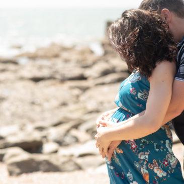 Séance grossesse à Pornic – Elodie et Yoan