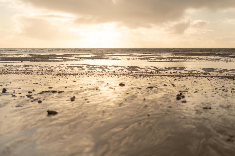 portait en vidéo, plage pornic, paysage, soleil couchant, agathe f photographie, photographe pornic